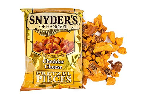 Snyder's of Hanover Cheddar Cheese, 3er Pack (3 x 125 g)