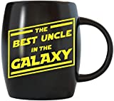 Fathers Day Gift for The Best Uncle nel Galaxy Funny novelty GAG Gifts For The World' s most Awesome Coolest e più grande Uncles Ever Cool ceramica tazze da caffè tè tazza per compleanno o Natale