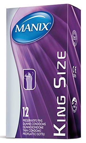 Manix Preservativos, Color Transparente - 12 Preservativos