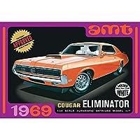 AMT 1/25 1969 クーガー エリミネーター (ホワイトボディ) プラモデル AMT898