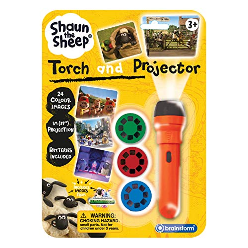 Brainstorm Toys Shaun the Sheep Torch and Projector, from Aardman
