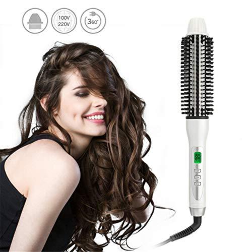 LHY HOME Hot Air Brush, 32mm électrique Curling en céramique Outils Automatique Chauffage Curly Piques à Cheveux Sèche-Cheveux Hairstyling