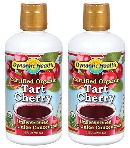 Tart Cherry Certified Organic Dynamic Health 32 oz Bottle