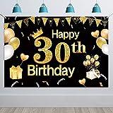 HOWAF Extra Große 30. Geburtstag Photo Booth Hintergrund