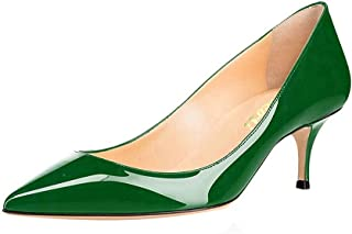 Best green leather heels Reviews