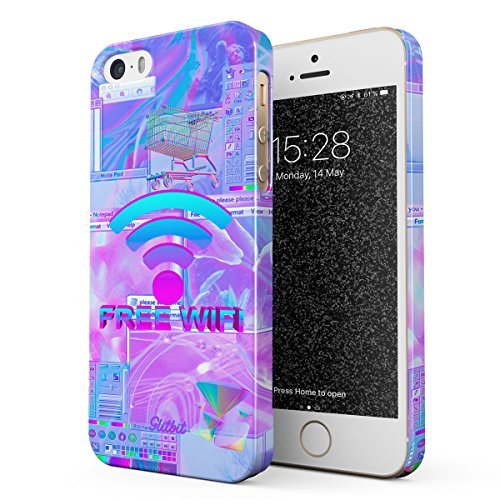 Glitbit Funda para iPhone X iPhone XS Case Kawaii Aesthetic Cute
