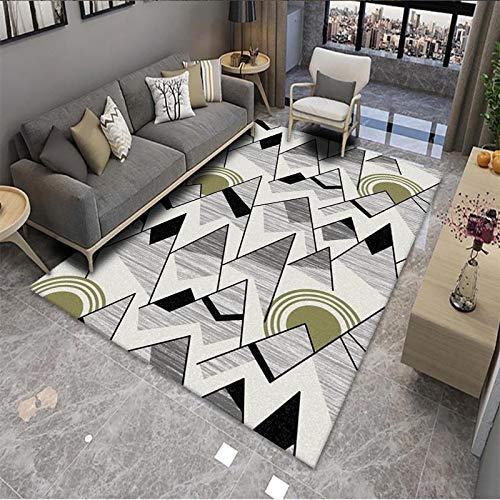 VOVTT Alfombras Salon Grandes - Pelo Largo Alfombra Habitación Dormitorio Lavables Comedor Moderna Vivero,40x60cm