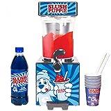 Slush Puppie SP Machine + Paper Cups + Blue Syrup