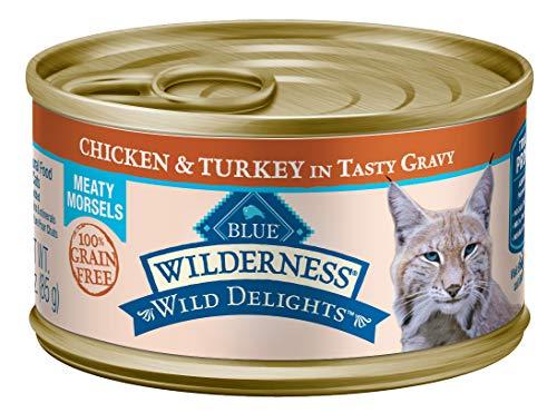 Blue Buffalo Wilderness Wild Delights Grain Free Wet Cat Food