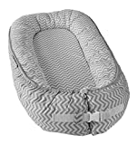 Little Archer & Co.™ Newborn Baby Nest - Easy to Move, Co-Sleeping, Breathable