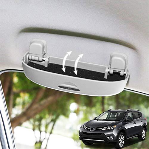 para Toyota RAV4 2013 2014 2015 2016 2017 2018 Interior Gafas de Sol Titular Gafas Estuche Caja de Almacenamiento Caja Contenedor Accesorios de Coche Piezas para Coche
