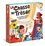 Clementoni-La Chasse au trésor, 52460, Multicolore