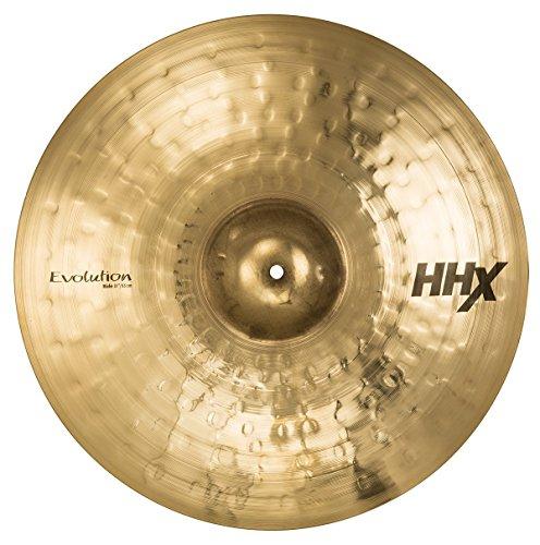 "Sabian HHX 21"" Evolution Ride Cymbal, Brilliant Finish (12112XEB)"