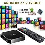 Smart TV Box X96 Mini Android 7.1 4K 4GB RAM 32GB ROM IPTV + TÉLÉCOMMANDE