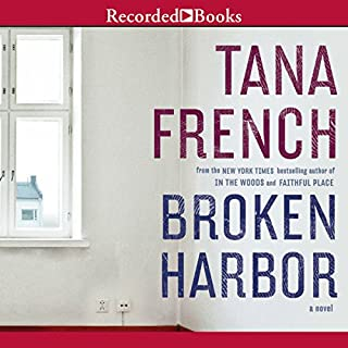 Broken Harbor audiobook cover art