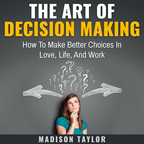 The Art of Decision Making audiobook cover art