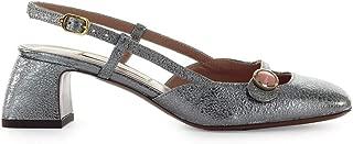 L'Autre Chose Women's Shoes Steel Leather Slingback Pump FW 19-20