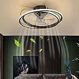 Ventiladores De Techo LED Iluminación Con Control Remoto 30W...