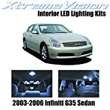 Xtremevision Interior LED for Infiniti G35 Sedan 2003-2006 (7 Pieces) Cool White...