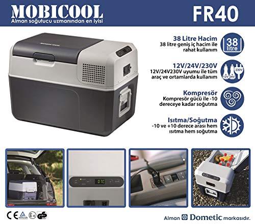 Auto refrigerador WAECO coolfreeze CFX 40w 38 litros