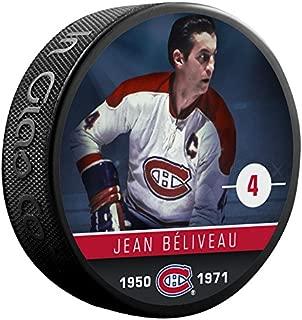 Jean Beliveau (Montreal Canadiens) The Alumni Product Line Souvenir Hockey Puck