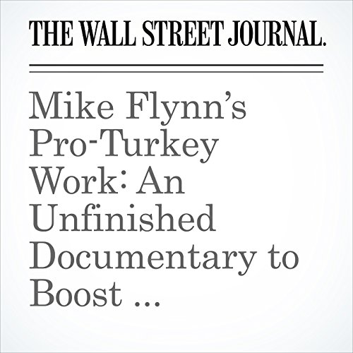 Mike Flynn's Pro-Turkey Work: An Unfinished Documentary to Boost Country's Image copertina