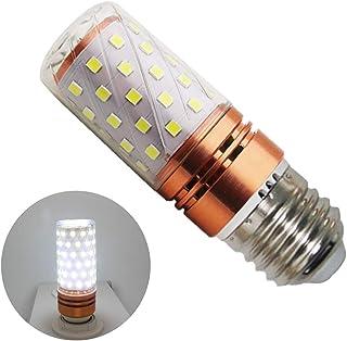16 W E27 LED blanco frío, 6000 K, 16 W equivalentes a 160 W de una bombilla incandescente, 1600 lúmenes, bombilla LED E27, bombilla de maíz, ángulo de haz de 360° (1 unidad)