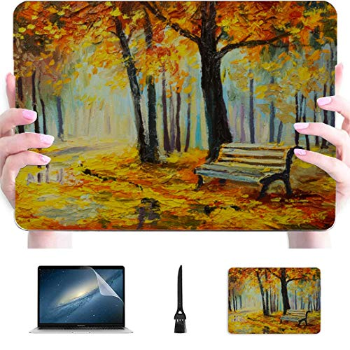 Case MacBook Pro 13 Beautiful Landscape Forest Plastic Hard Shell Compatible Mac Air 13' Pro 13'/16' MacBook 2017 Case Protective Cover for MacBook 2016-2020 Version
