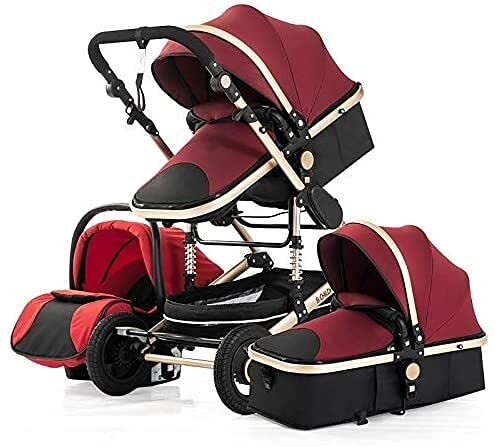 Sistema de viaje para bebés 3 en 1, cochecito de bebé, sistema de viaje para bebés, sistemas de viaje de sillas de bebé, cochecito para bebés para el carro convertible plegable para bebés, cochecito l