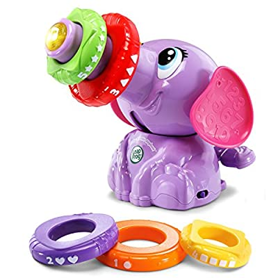 LeapFrog Stack & Tumble Elephant (Amazon Exclusive), Great Gift For Kids, Toddlers, Toy for Boys and Girls, Ages 1, 2