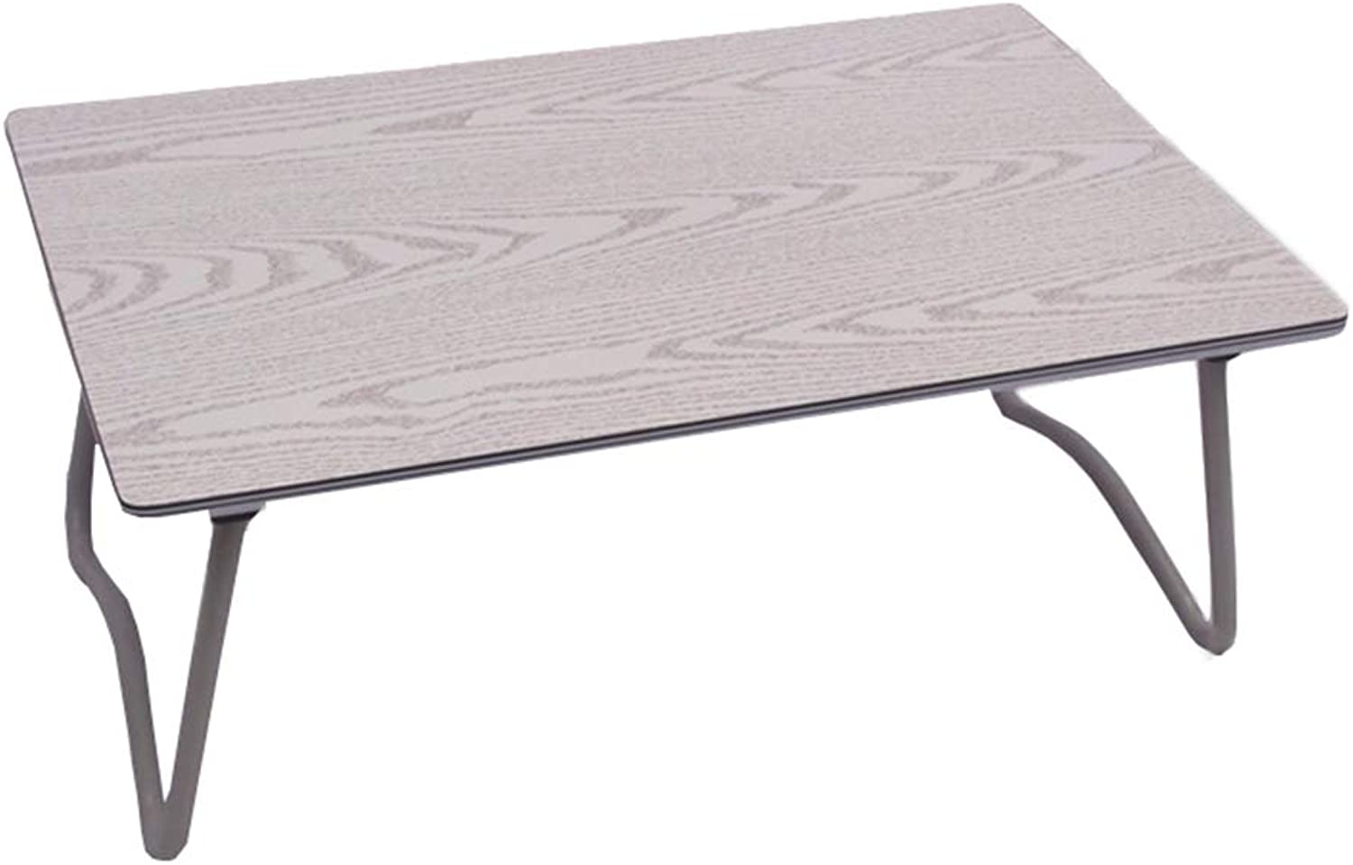 Wood Folding Computer Desk, Non-Slip Lightweight Stable Sturdy Anti-Corrosion and Rust Prevention Bearing Capacity Large Modern Lazy Table Dormitory,3