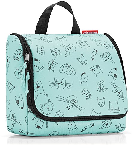 Reisenthel toiletbag Cats and Dogs Mint Bolsa de Aseo 23 Cen