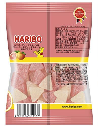 三菱食品 ハリボー グレープフルーツ 80g