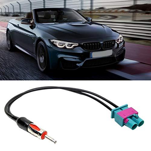 YSHTAN Auto Antenne Adapter Kabel Auto Interieur Onderdelen Kabel Auto Voertuig Stereo Radio Antenne Adapter Aansluitkabel voor V-W F-ord BM-W