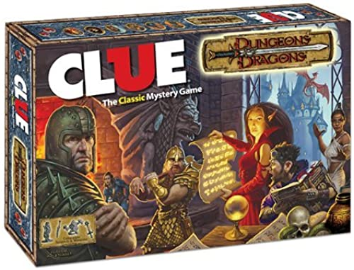 tomamos a los clientes como nuestro dios DUNGEONS & DRAGONS CLUE by by by USAopoly  preferente