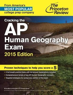 Cracking the AP Human Geography Exam 2015 Edition CRACKING THE AP HUMAN GEOGRAPH Paperback product image