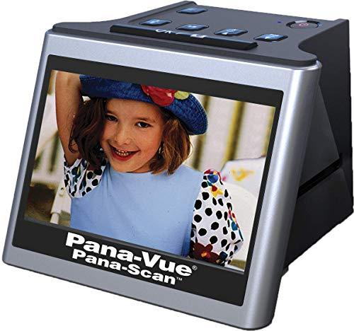 Pana-Vue Pana-Scan Slide & Film Scanner Converts 35mm, 110, 126 Slide & Negatives to High Resolution 22MP JPEG Digital Images