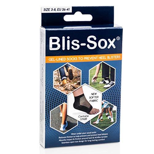 BLIS-SOX Blasen-Socken - Schwarz - EU 36-41 (UK/US Größe 3-8)