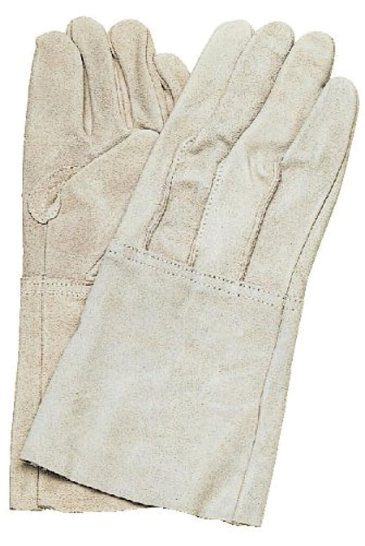 コヅチ(KOZUCHI) 牛床皮溶接用手袋5本指 フリーサイズ KG-471