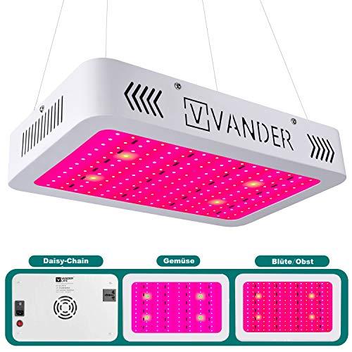 LED Pflanzenlampe 1000W Vollspektrum LED Grow Light Wachstumslampe für zimmerpflanzen mit Daisy-Chain Funktion
