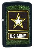 Zippo Pocket Lighter Army Windproof Lighter, Black Matte