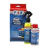 P4B   Kettenpflege - Set für Ihr Fahrrad   1x 200 ml Kettenreiniger + 1x 150 ml Kettenfett PTFE