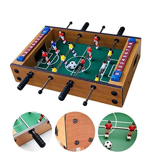 Sport Games Calcetto Soccer Match MDF Mini Calcio da Tavolo in Legno Che può Essere Posizionato su Qualsiasi Piano del Tavolo