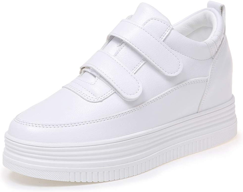 Fuze Women Casual shoes Women Hidden Wedge Platforms 7Cm High Heels