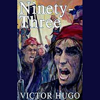 Ninety-Three audiobook cover art