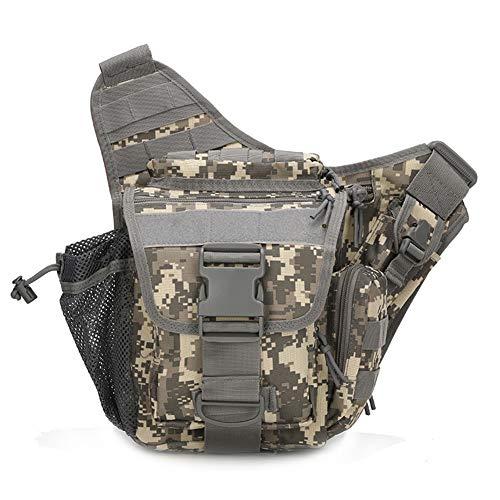 FLLH Les Tactiques de Camouflage épaule Sacoche Unique Champ Taille Oblique chevauchent Sac Sac