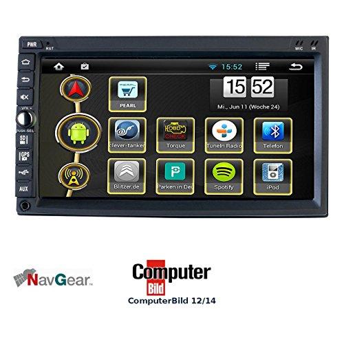 NavGear 2-DIN Android-Autoradio DSR-N 420 - GPS, WiFi, BT2, Miracast