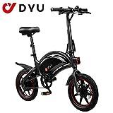 AmazeFan DYU D3F Bicicleta eléctrica Plegable de montaña, Bicicleta...