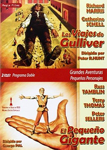 Los Viajes De Gulliver/  El Pequeño Gigante [DVD]