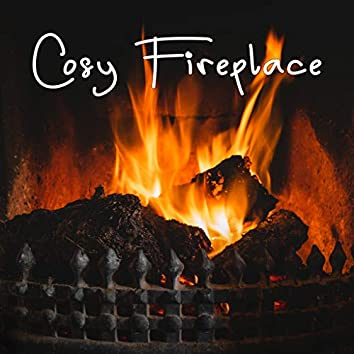 Cosy Fireplace: Roaring Log Fire